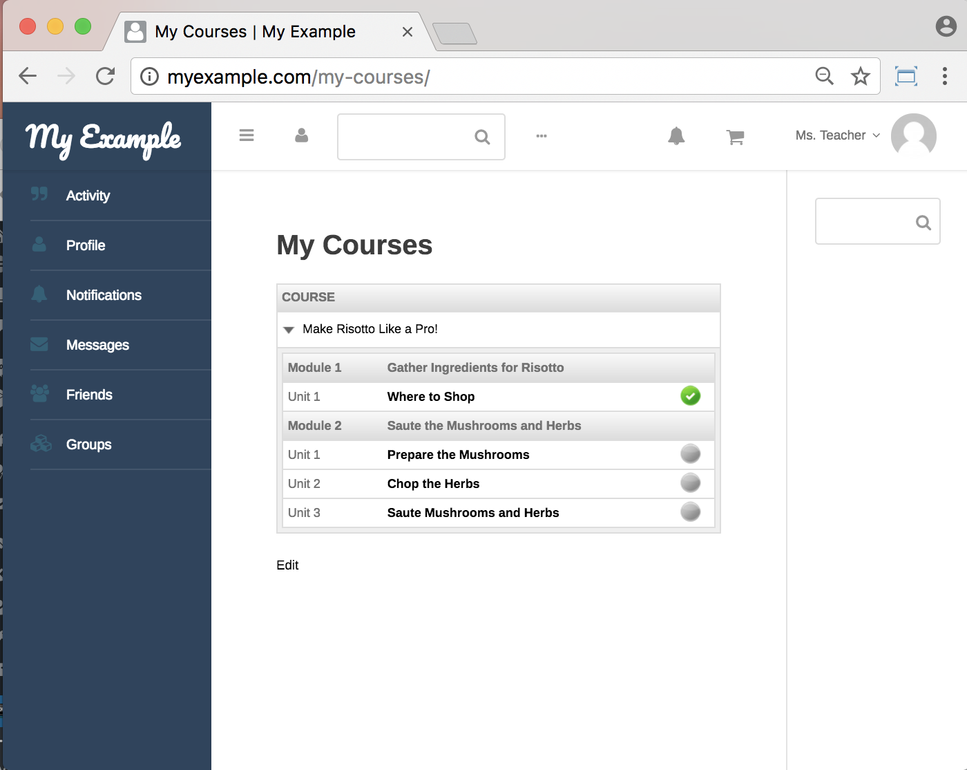 WP Courseware Plugin-frontend Courses Progress Info